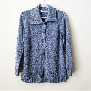Liz Claiborne Women's Blue Sweater Large